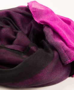 Pink & Black Two Tone Hijab