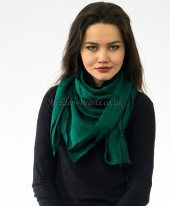 Plain Hijab Forest Green