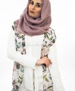 Plain Hijab - Lavender Pink - Hidden Pearls