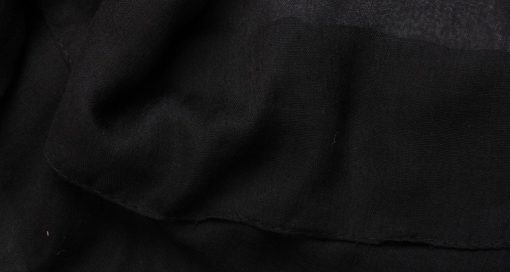 Black Plain Hijab