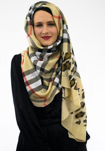 Burberry Hijab Cream 2