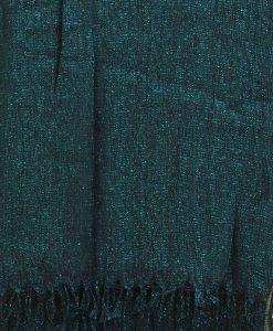 Teal Blue Shimmer Hijab