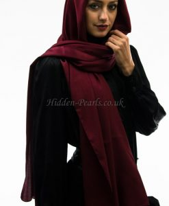silk plain maroon2