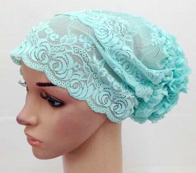 lace underscarf