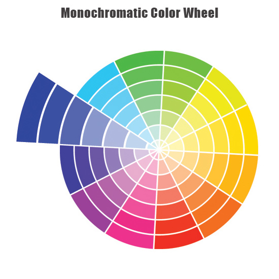 monochromatic-colour-wheel