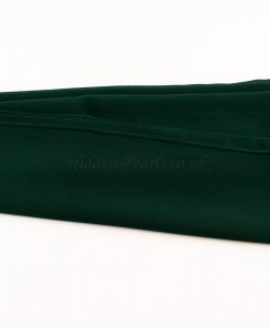Chiffon Plain Forest Green 4