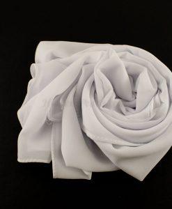 Chiffon Plain White 2