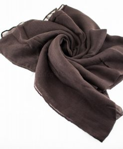 Everyday Plain Hijab Chocolate 2
