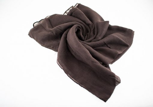 Everyday Plain Hijab Chocolate 2