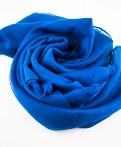 Everyday Plain Hijab Royal Blue 4