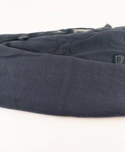 Tassels Grey Hijab 2