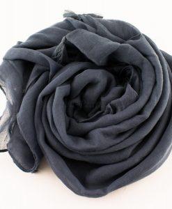 Tassels Grey Hijab 5
