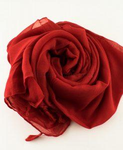 Tassels Red Hijab 3