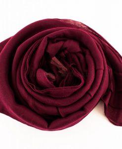 Tassels Rosewood Hijab 4