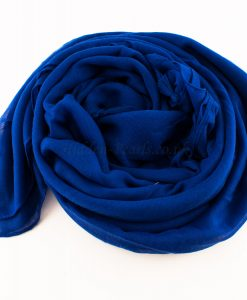 Tassels Royal Blue Hijab 4
