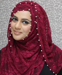 Pearl & Lace Hijab