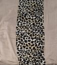 Maxi Jersey Leopard Print Border Taupe 3