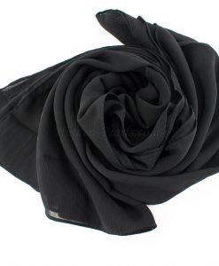 Deluxe chiffon black 7