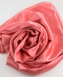 Silk Hijab Baby Pink 2
