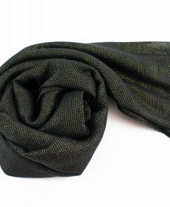 Occasion Shimmer Hijab Black 2