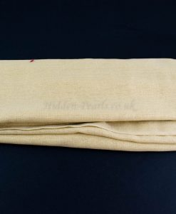 Occasion Shimmer Hijab Ivory Gold