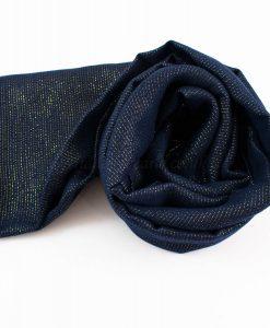 Occasion Shimmer Hijab Midnight Blue 3
