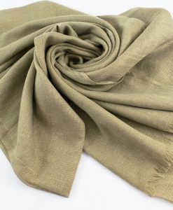 Occasion Shimmer Hijab Stone Gold 2