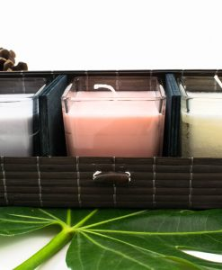 Trio Spa Candles Gift Set - Islamic Gifts - Hidden Pearls