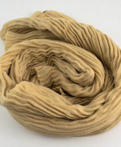 Crinkle Hijab Cream:Beige