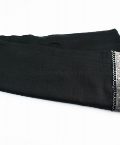 Crochet Lace Hijab Black 2