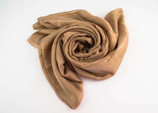 Deluxe Plain Hijab Camel 6