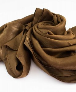 Deluxe Plain Hijab Deep Bronze 5