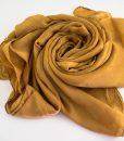 Deluxe Plain Hijab Golden Tan 1