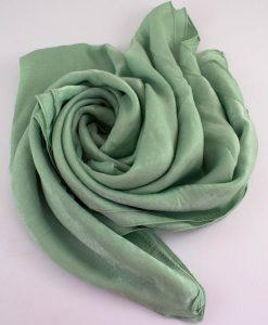 Deluxe Plain Hijab Mint 1