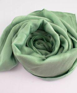 Deluxe Plain Hijab Mint 2