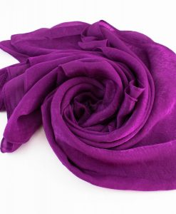 Deluxe Plain Hijab Purple 3