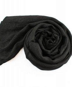 Shimmer Hijab Black 1