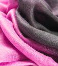Pink & Black Two Tone Hijab