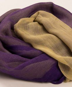 Purple & Cream Two Tone Hijab