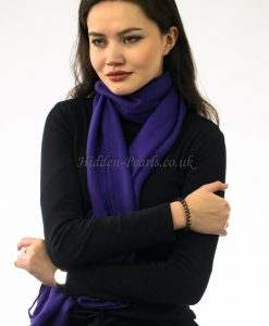 Plain Hijab Light Violet 2