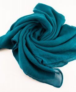 Plain Hijab Teal 2