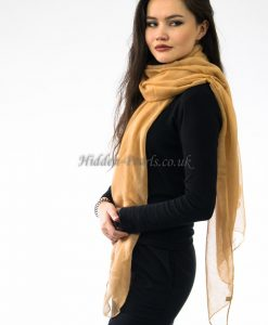 Plain Hijab Yellow Wheat 2