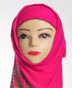 P3061894_Pink Diamante Hijab