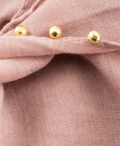 dusky-pink gold pearl