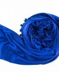 pom pom royal-blue
