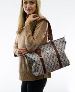 grey brown shoulder bag 2