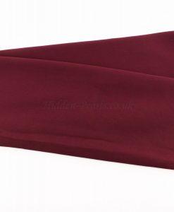Chiffon Plain Rosewood 1