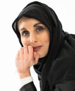 Jersey Plain Hijab - Black - Hidden Pearls