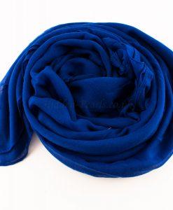 Tassels Royal Blue Hijab 4