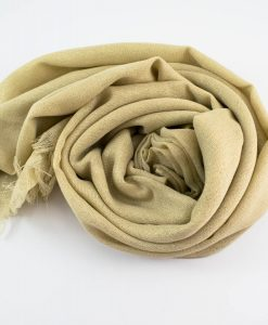Occasion Shimmer Hijab Gold 3
